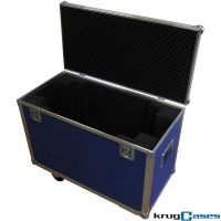 Flightcase Transportbox mit Rollen 1