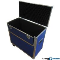 Flightcase Transportbox mit Rollen 2